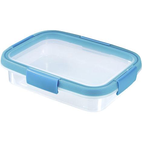CURVER CURVER Frischhaltedose Smart Fresh 0,7l rechteckig transparent/hellblau