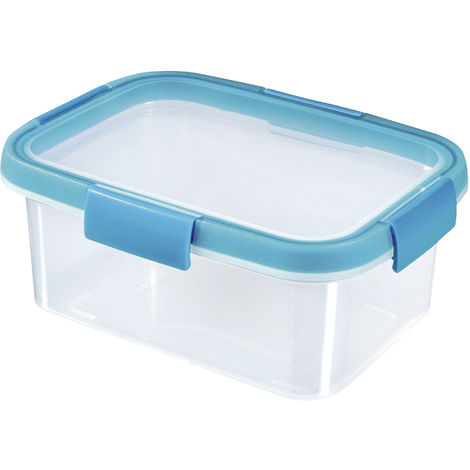 CURVER CURVER Frischhaltedose Smart Fresh 1,2l rechteckig transparent/hellblau