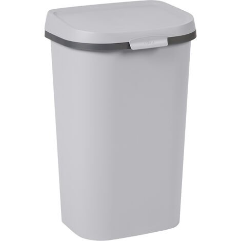 Curver Müll Mistral Wohnung recyceltes PVC grau 50L