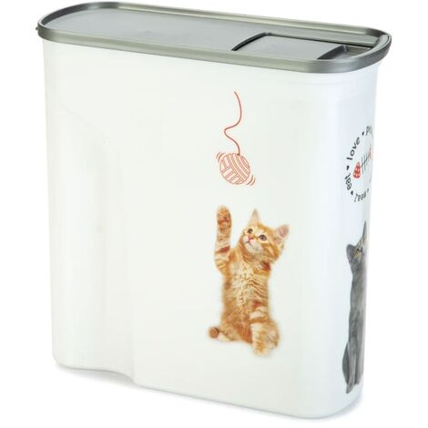 """main image of """"Curver Pet Food Container Cat 15L - White"""""""