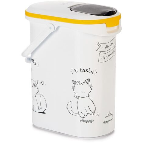 Curver Pet Food Container Dinner is Served Cat 10L