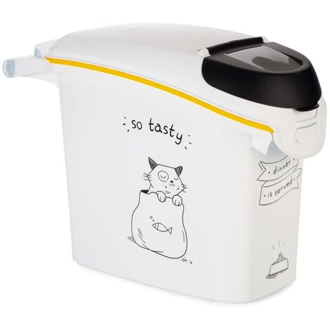 Curver Pet Food Container Dinner is Served Cat 15L