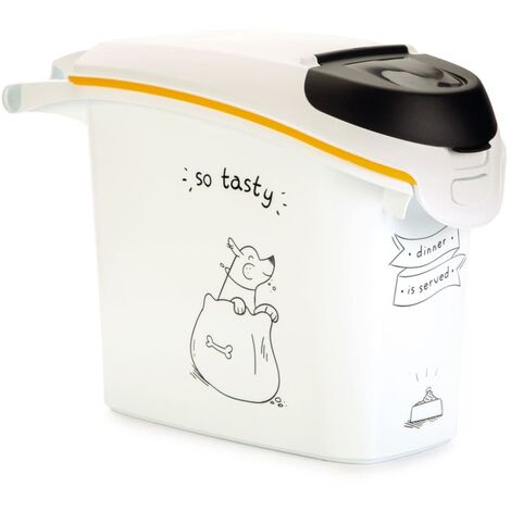 Curver Pet Food Container Dinner is Served Dog 15L