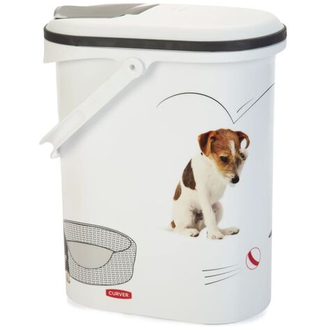 Curver Pet Food Container Dog with Wheels 54L