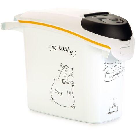Curver Tierfutterbehälter Dinner is Served Hund 15 L