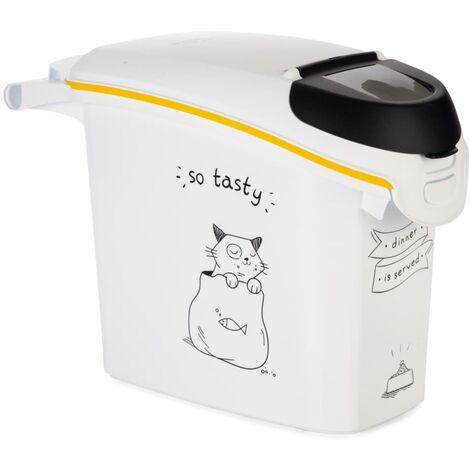 Curver Tierfutterbehälter Dinner is Served Katze 15 L