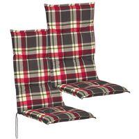 Cuscini per mobili da giardino for Cuscini con schienale per sedie da giardino