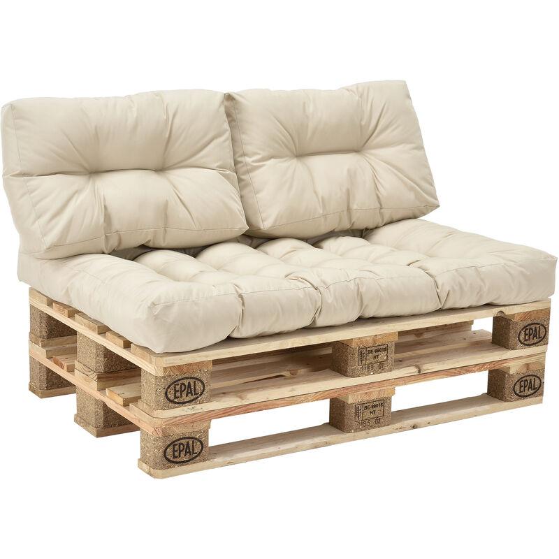 Cuscini Per Divano Beige.Cuscini Per Paletta Euro Sofa Tavolozze Set Di 3 Cuscino