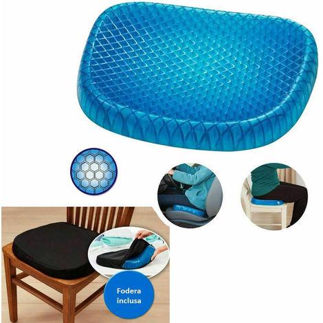 Cuscino Per Seduta Corretta.Cuscino Gel Sedia Sedile Nido D Ape Comfort Sostegno Seduta