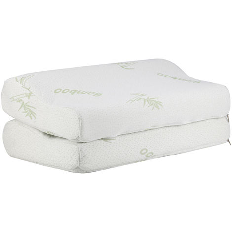 Cuscino Morbido Cuscino Bamboo Dormire Ergonomico Memory Dorm Cervical
