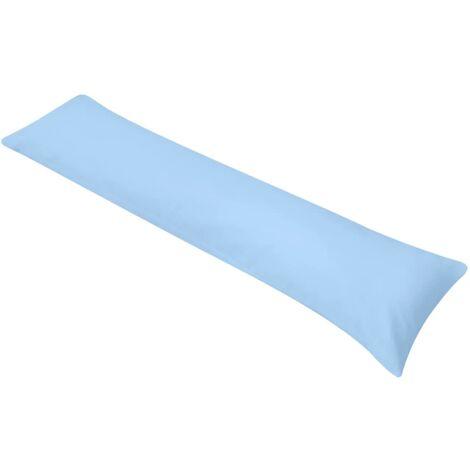 Cuscino per Domire sul Fianco 40x145 cm Blu