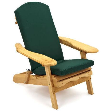 Cuscini Per Sedie Sdraio.Cuscino Per Sedia A Sdraio Trueshopping Verde Scuro Solo Cuscino