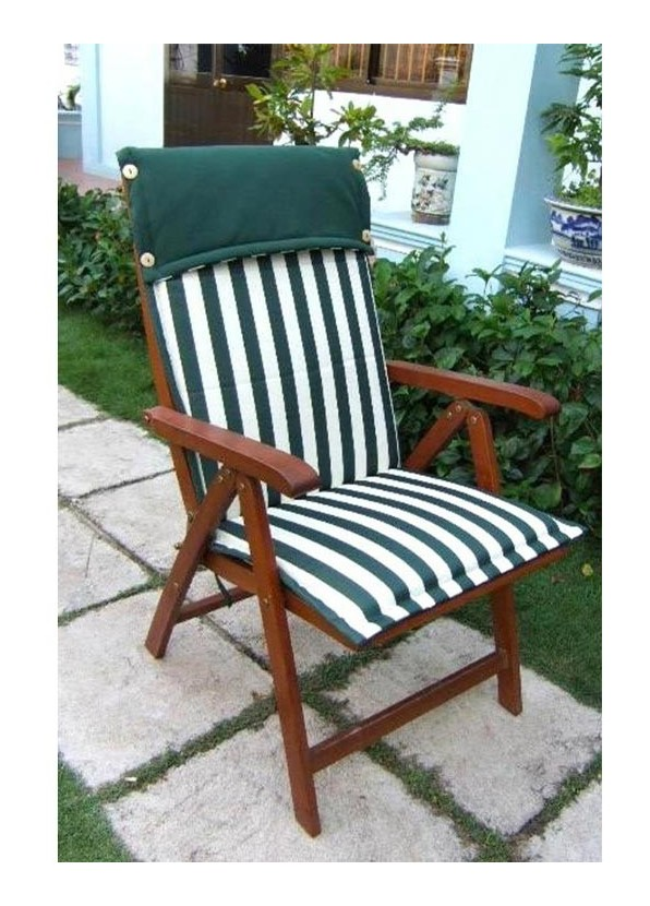 GIARDINO cuscini per schienale alto poltrona giardino sedia Madison Cuscino Imbottitura