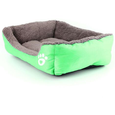 Cushion cart warm winter home for dog cat animal green Mohoo