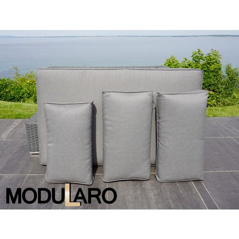 Cushion Covers for right/left arm sofa for Modularo, Grey