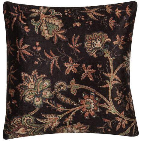 Cushion Flower Print 45 x 45 cm Multicolour KARUR