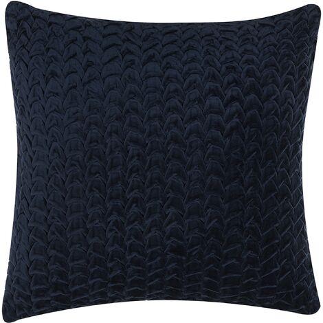 Cushion Scale Pattern 45 x 45 cm Blue MEMURI
