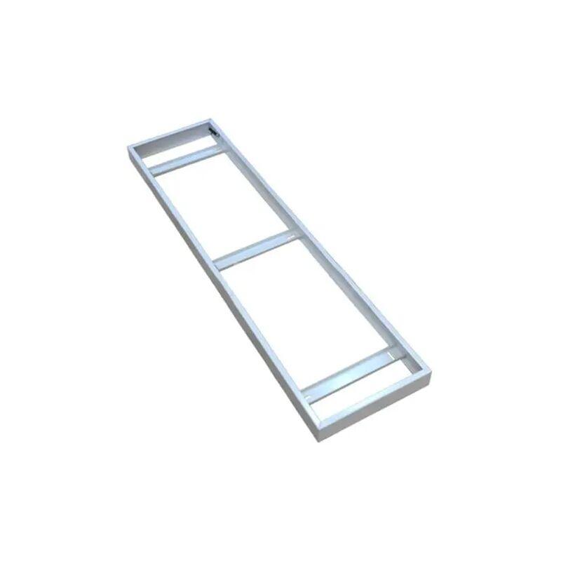 V-tac - kit montaggio superficiale pannello led 1200x300 bianco tec 623683