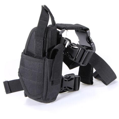 Custodia tattica per la protezione delle gambe per il paintball della pistola Polyster del Regno Unito