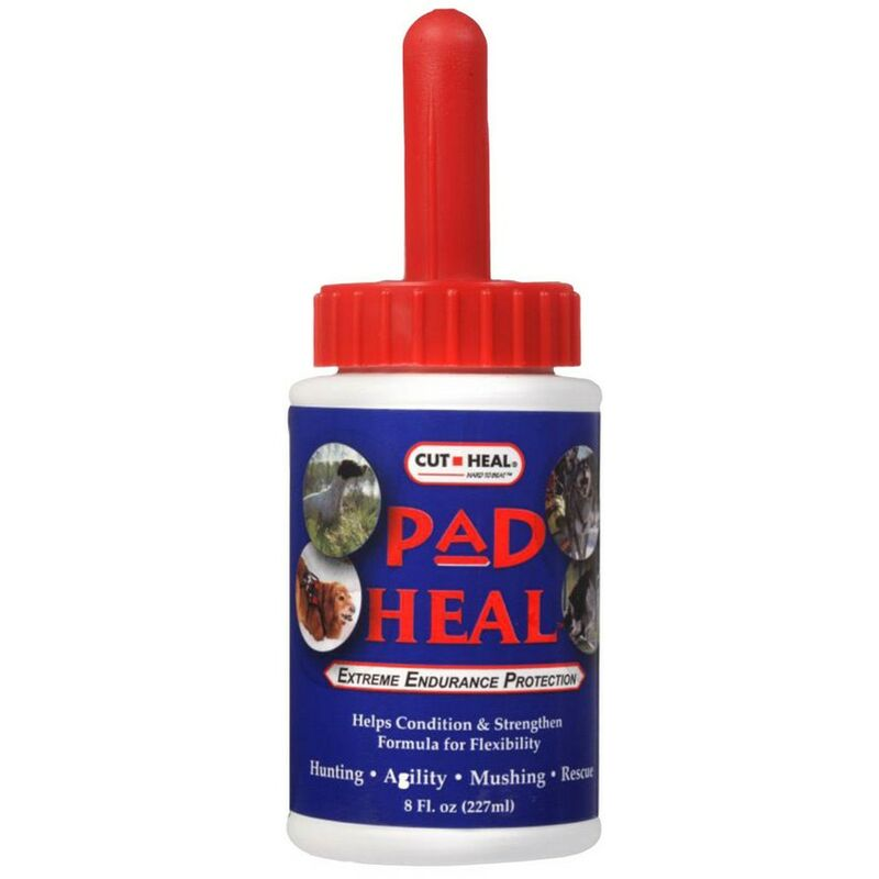 Image of Pad Liquid Dog Paw Balm (227ml) (Blue/Red) - Cut Heal