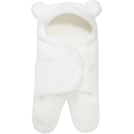 "main image of ""Cute Bio Bear Newborn Swaddle Wrap-Ideal Baby Recording Gift-Baby Girl Girl Plush Wrap"""
