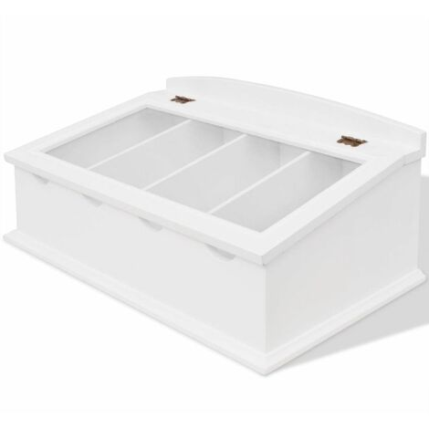 """main image of """"Cutlery Tray MDF White Baroque Style"""""""