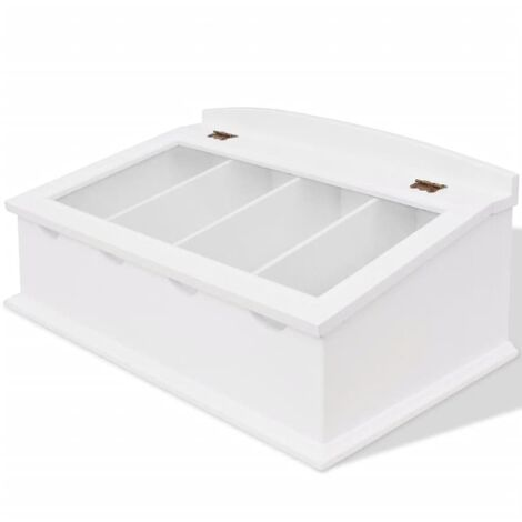 """main image of """"Cutlery Tray MDF White Baroque Style9860-Serial number"""""""