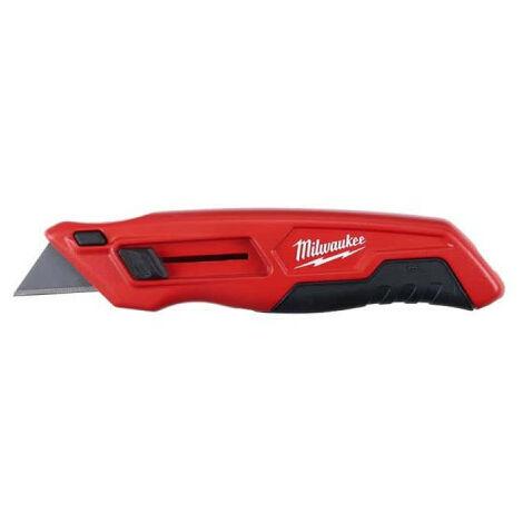 Cutter MILWAUKEE à lame rétractable bimatière 4932471359