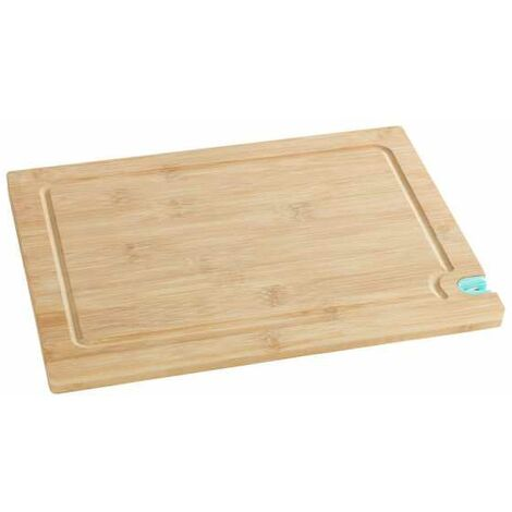 Cutting board with knife sharpener L WENKO