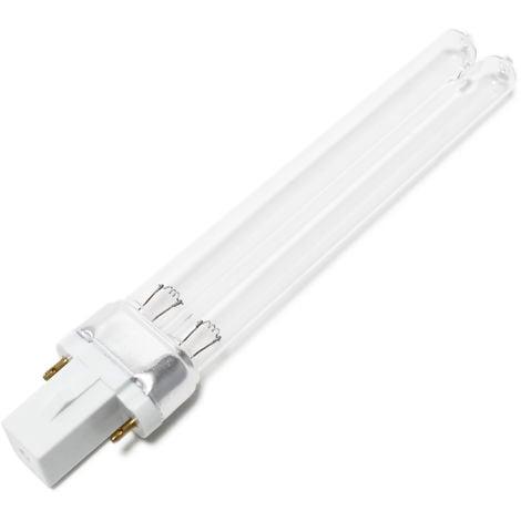 CUV-209 Tubo lámpara UV-C 9W para filtro de luz UVC clarificador estanques Repuesto Recambio SunSun