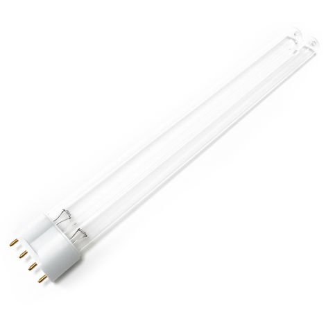 CUV-655 Tubo lámpara UV-C 55W para filtro de luz UVC clarificador estanques Repuesto Recambio SunSun