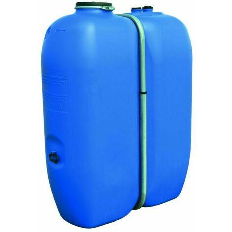 Cuve à eau Schutz Aquablock 1000 litres avec bandage récupération d'eau pluie ou potable