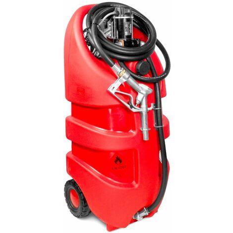 Cuve diesel mobile 110L pompe 12V MW-Tools TD110