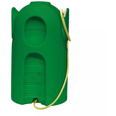 Cuve Ecopluie 600 litres verte pour la récupération de l'eau de pluie