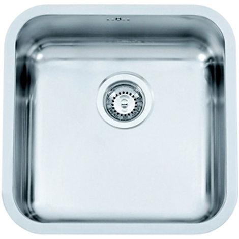 Cuve inox rectangulaire - Pour caisson de largeur : 450 mm - Profondeur hors tout : 440 mm - Largeur hors tout : 380 mm - Nombre d\'égouttoirs : - - Nombre de bacs : 1 - Profondeur cuve : 200 mm - En