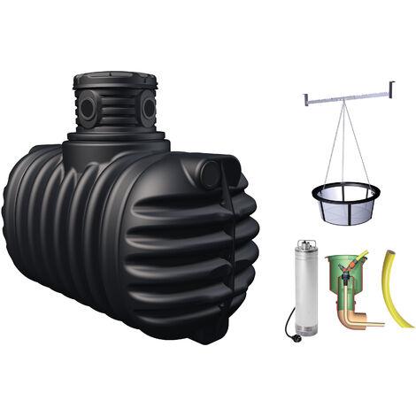 cuve récupérateur à eau à enterrer 1600 l - 295310 - graf