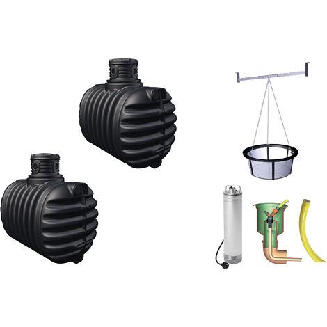 cuve récupérateur à eau à enterrer 5300 l - 295315 - graf