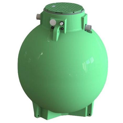 Cuve récupération eau de pluie Ecociter pré équipée - 3000 L