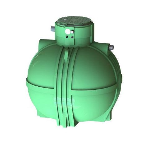 Cuve récupération eau de pluie Ecociter pré équipée - 4000 L