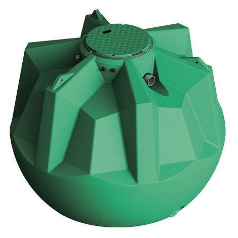 Cuve récupération eau de pluie Ecociter pré équipée - 6100 L