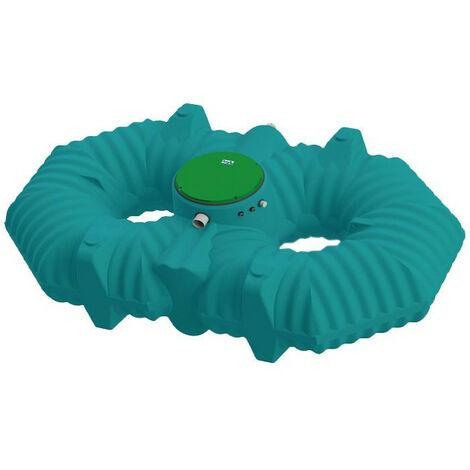 Cuve récupération eau de pluie Ecociter pré équipée - Plate 5000 L