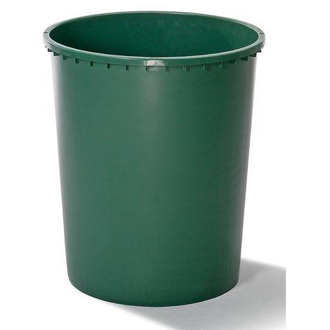 Cuve ronde - capacité 310 l - diamètre en haut 800 mm - Coloris: Vert