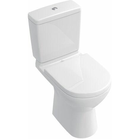 Cuvette sur pied pour ensemble WC à fond creux ONOVO 36x67cm en porcelaine, avec sortie verticale, blanc réf. 56610101