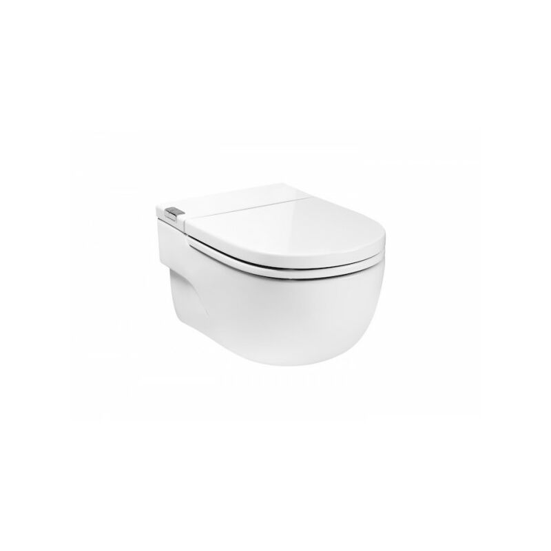 design moderne Estink WC suspendu sans rebord WC suspendu de type D en une seule pi/èce structure en c/éramique avec couvercle assorti