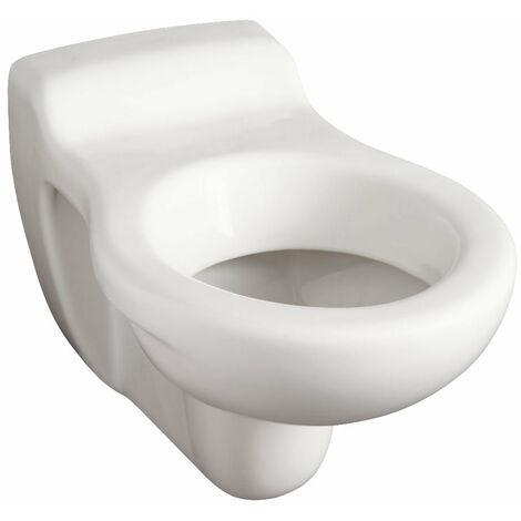 Cuvette suspendue GEBERIT PUBLICA devient BAMBINI de taille reduite pour enfants, sans trou d'abattant blanche ref. 394510000