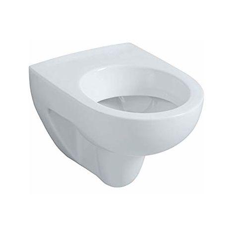 Cuvette suspendue PRIMA Compact blanc sans trou abattant réf 00390310000