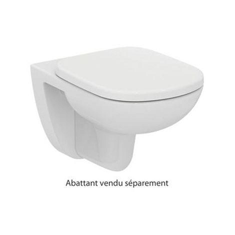 Cuvette WC à suspendue Kheops - 36x53cm - Blanc
