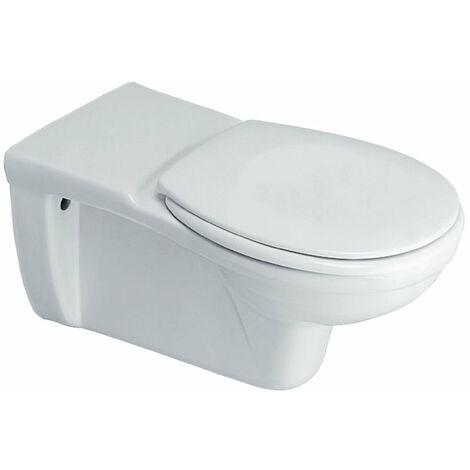 Cuvette WC MATURA independante suspendue avec sortie horizontale, blanc, PORCHER, ref. P243001