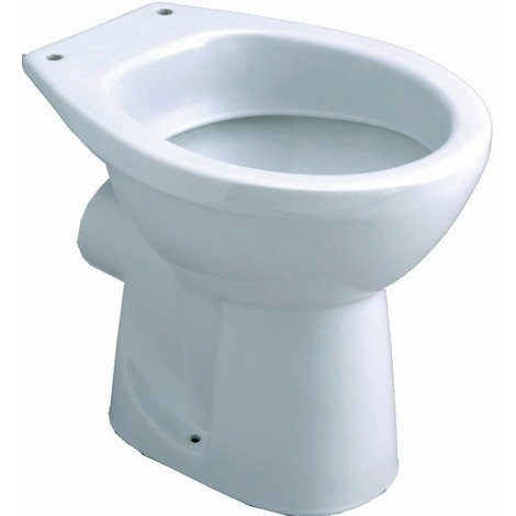 Cuvette WC nue à alimentation indépendante Publica 46x36 blanc