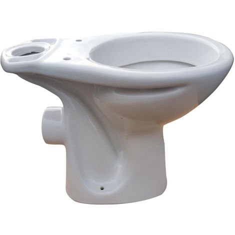 """main image of """"Cuvette WC ROCA POLO sortie horizontale - Blanche"""""""